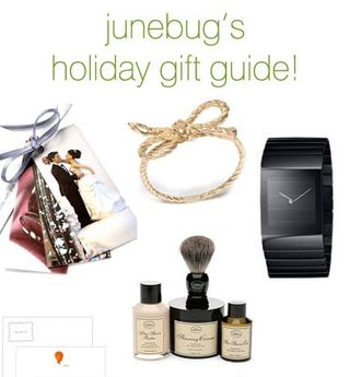 Junebug's holiday gift guide, wedding planning, portland wedding