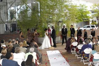 World Trade Center Portland wedding ceremony