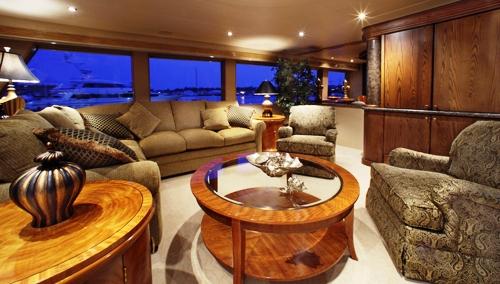 Isabella-main-saloon-wedding-boat-charter-portland