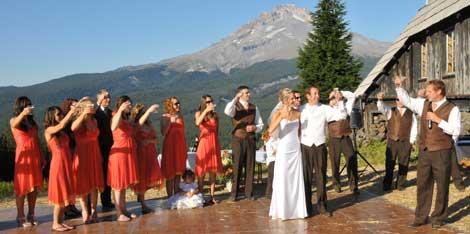 Mt Hood Skibowl Mount Wedding