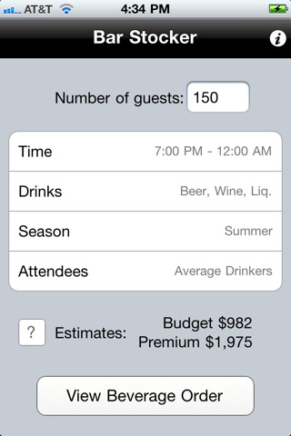 Iphone-app-event-planning-bar-liquor-drinks