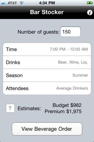 Iphone-app-event-planning-bar-liquor-drinks