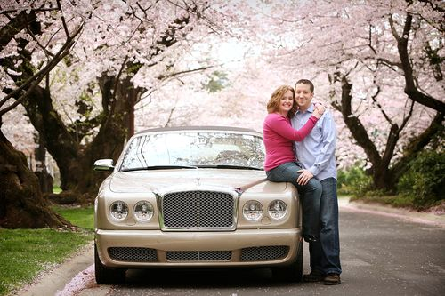 Portland-wedding-cherry-blossoms-engagement
