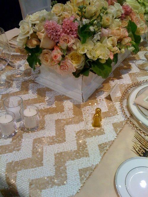 Chevron-sequin-tablecloth-la-tavola