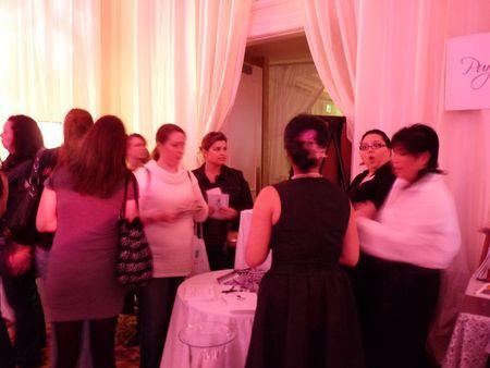 Bridal show attendane