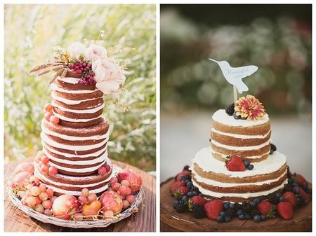 Casual-unfrosted-wedding-cake