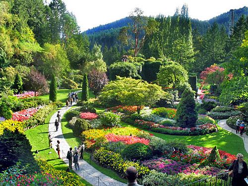 Butchart-sunken-gardens