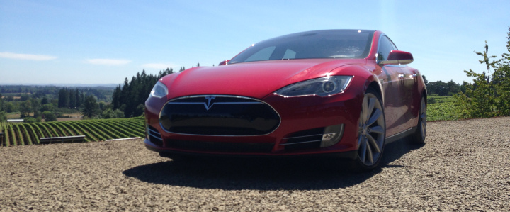 Tesla-trips-electric-town-car-portland-oregon
