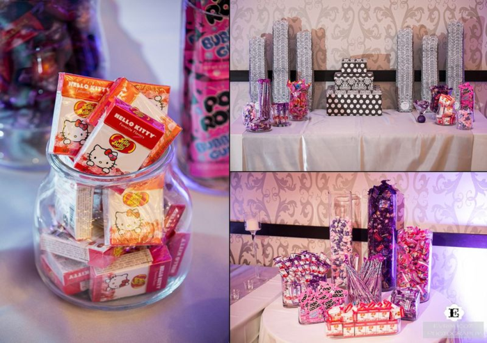 Hello-kitty-themed-wedding-candy-buffet