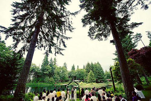Bridal Veil Lakes wedding, photo by Scott McNamara