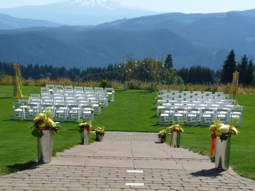 Gorge Crest Vineyards wedding