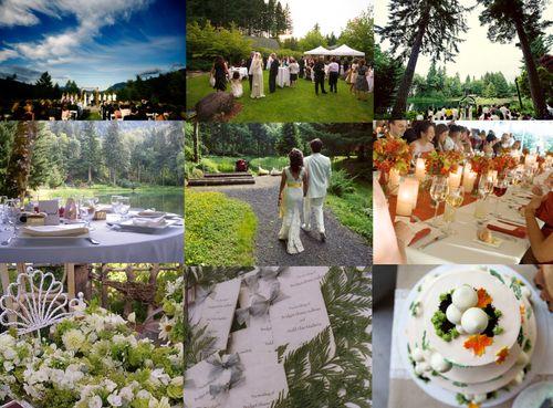 Oregon wedding stylish inspiration