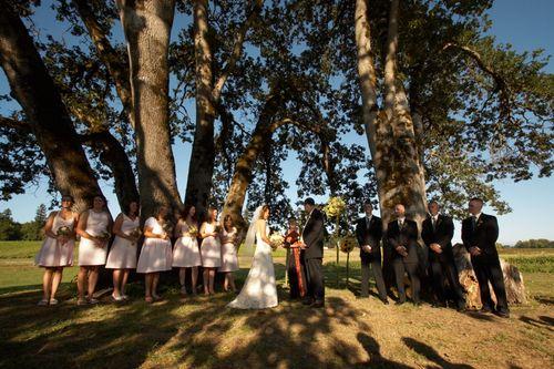 A farm wedding on Sauvie Island, Oregon